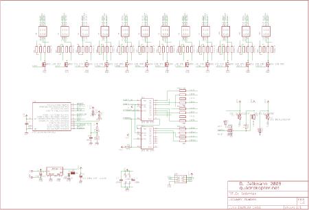 LED Stripe - Schaltplan Version 1.1